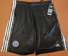 LZ Adidas Men's Size Large New York City Football Club Mesh Soccer Shorts NEW M2