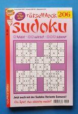 Kelter Sudoku Rätselblock Nr.206  NEU+unbenutzt 1A