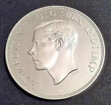 More details for great britain 1937 edward viii unofficial pattern double florin sterling silver