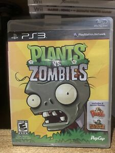 Plants vs. Zombies for PlayStation 3 PS3! COMPLETE AND TESTED!