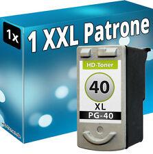 DRUCKER PATRONE REFILL für CANON  PG40 BLACK PIXMA MP210 MP220 MP450 MP460 MP470