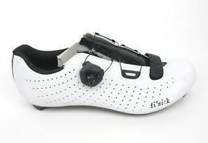 Fizik Tempo Overcurve R5 41 / 8.25 Road Cycling Shoe White/Black $150 Retail