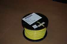 MIL SPEC WIRE M22759/11-12-4  SILVER PLATED 12 AWG  500 FT ROLL  YELLOW NEW