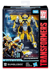 Transformers Hasbro Bumblebee Deluxe Class Studio Series 01 Action Figure Toys