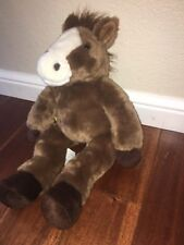 Build a Bear Horse Retired Old Tag Stuffed Animal