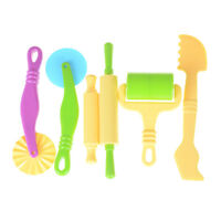 6pc/set Polymer Clay Intelligent Modeling Mould Play Tools Clay Mold Kids Toy ME