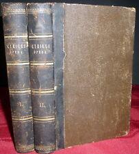 St Cyril of Jerusalem Life & Works, in Greek & Latin. 2V 1848, 1860, Patristic