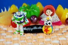 Disney Toy Story Cowgirl Jessie Buzz Lightyear Figure Cake Topper K797_K1031