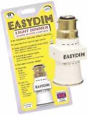 Easydim Enchufe De Luz Dimmer Adaptador no conmutador regulador necesario lámpara Noche Reino Unido Stock