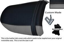 Gris Y Negro Custom encaja Suzuki Gsf 400 Bandit Trasero necesidades cubierta de asiento