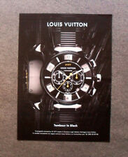 M535 - Advertising Pubblicità - 2013 - LOUIS VUITTON TAMBOUR IN BLACK