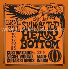 ERNIE BALL 2215 SKINNY TOP  HEAVY BOTTOM SLINKY NICKEL WOUND GUITAR STRINGS