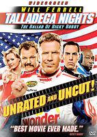 "Talladega Nights: The Ballad of Ricky Bobby (Wide)  DVD "" NEW SEALED"""