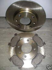 PEUGEOT 206 REAR BRAKE DISCS AND PADS 1.4(16V)1.6(16V) & 2.0 INCLUDING CC & Gti