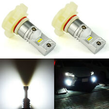 JDM ASTAR 2x 1300Lm 5202 5201 Super Bright Xenon White LED Bulbs DRL Fog Lights