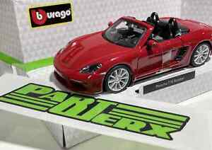 1:32 Scale Model Porsche Boxster Toy Childs Enthusiast Dad Birthday Gift Present
