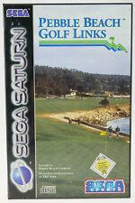 Pebble Beach Golf Links | SEGA Saturn SS | komplett in OVP | gut