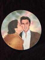 Elvis Presley Bradford Exchange Plate Elvis and Gladys 5th Plate