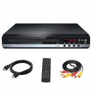CD DVD UHD Spieler mit HDMI USB AV Anschluss Mit Fernbedienung für TV Player DE