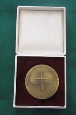 1985 6th All-Christian Peace Assembly Prague Medallion - Choose Life