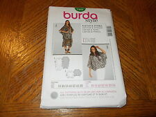 Burda Style Pattern 7402 Miss/Womens Loose Fit Caftan & tunic  Sz 8/10 - 32/34