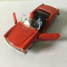 Atlas DINKY TOYS 528 Peugeot 404 cabriolet pininfarina red car model 1/43 Alloy