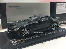 Minichamps 1/43 Mercedes-Benz SLS AMG Black Series 2013 Black Art.437033020