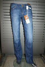 Mavi Jeans Olivia 10189-8651 Football Brshd Vntg Neuf Bas Taille Droit Leg Rinse