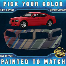 New Painted to Match - Front Bumper Cover Fascia For 2006-2010 Dodge Charger