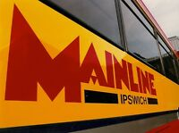 Mainline Ipswich logo 6x4 Quality Bus Photo