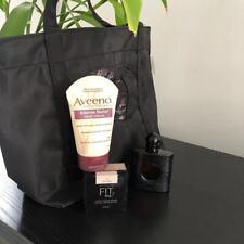 New Black Nylon Sequin Makeup Bag Case Cosmetic Beauty Bag Tote Bag Carry Bag