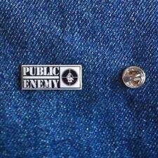 Public Enemy Pin Badge Hip Hop Rap