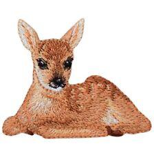 "Deer Fawn Applique Patch - Baby Deer Badge 2-1/8"" (Iron on)"