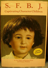 SFBJ French Bisque Character Dolls Markings Book