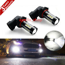 9005 HB3 80W LED Fog Light Bulbs Car Driving Lamp DRL 6000K White High Power PO