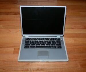 Apple Powerbook G4 Titanium Laptop Model M5884 - Does Not Power On