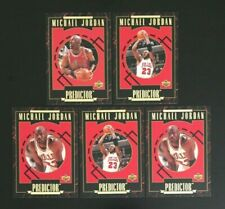1995/96 Upper Deck Predictor Michael Jordan Lot x 5