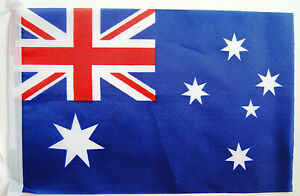 Australia Fabric Bunting - strong various lengths wholesale free 1st class post