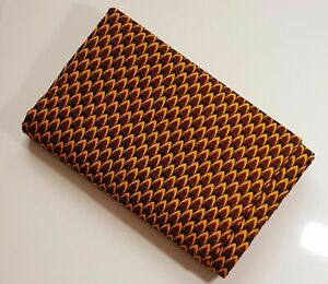 African Wax Ankara Print 100% Cotton Fabric Crafts Quilting Quality Sewing Arts