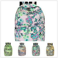Fashion Women Girls' Canvas Backpack Shoulder Bags Casual Bags School Book