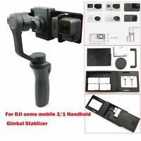 Adapter Mount Plate Holder + Block For GoPro Hero 6 5 DJI OSMO Mobile 2/1 Gimbal