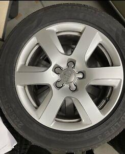Audi A6 4G Sommerräder Komplettradsatz 4G0601025BK -225/55 R17 101Y --8Jx17 ET39