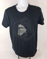 Star Wars Mens T-Shirt Sz L Lg Kylo Ren Black Short Sleeve Mad Engine