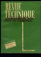 (C11)REVUE TECHNIQUE AUTOMOBILE OPEL KAPITAN / MOTEUR BUDA
