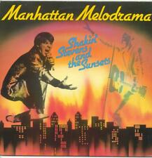 "SHAKIN' STEVENS AND THE SUNSETS - MANHATTAN MELODRAMA - 12"" VINYL LP (JULEP 19)"