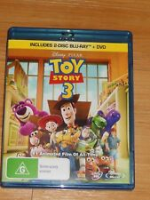 TOY STORY 3 - DVD + 2 DISC BLU-RAY  100% Authentic