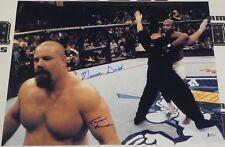 Tank Abbott & Maurice Smith Signed 16x20 Photo BAS Beckett COA UFC 15 Autograph