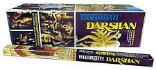INCENSO BHARATH DARSHAN pacco 25 confezioni da 8 sticks 200 bastoncini incensi