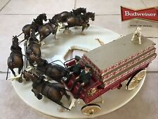 Budweiser Beer Carousel Clydesdale Horse Parade Light Parts Only Sign Display