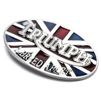 British Flag Triumph Union Metal Waistband Alloy Belt Buckle Cowboy Waist HF